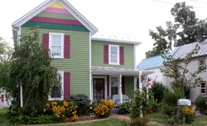 house colorful
