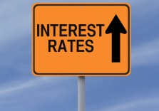 rates up sign
